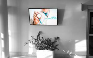 7 benefícios da TV Indoor na área da saúde