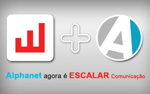 Alphanet agora é Escalar Comunicação e Marketing